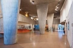 salle des pas-perdus, Maison de l'UNESCO, Paris 7e